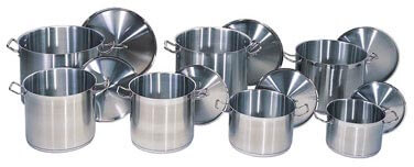 Update International SuperSteel Stock Pot - SPS-100