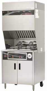 Wells VCS2000 Ventless Dual Fryer w-Auto WVF-886