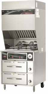 Wells VCS2000 Ventless Dual Fryer w-Auto WVF-886RW