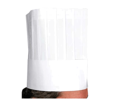 Winco Disposable Chef's Hat - DCH-9